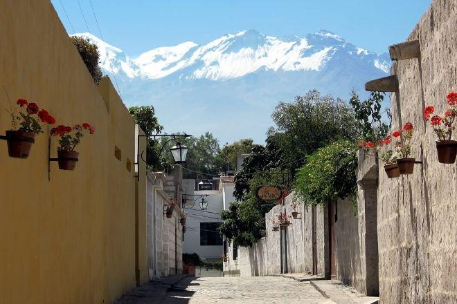 Yanahuara, Arequipa, Peru