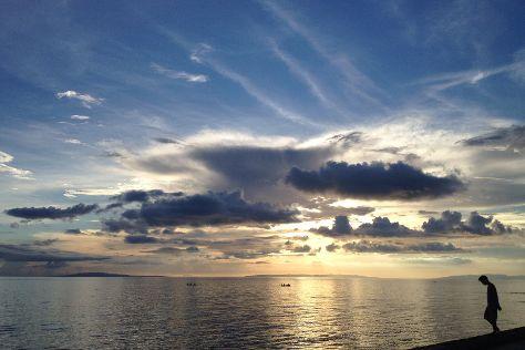 Baybay Beach, Roxas City, Philippines