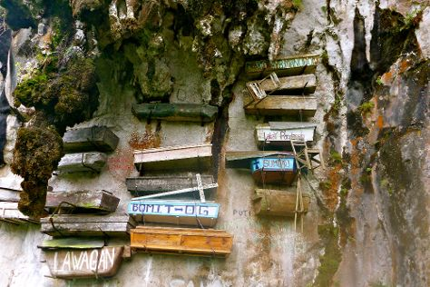 The Hanging Coffins Of Sagada, Sagada, Philippines