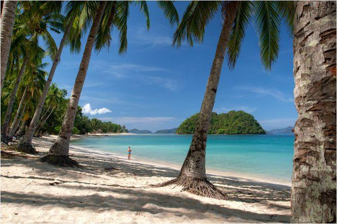 Las Cabanas Beach, El Nido, Philippines