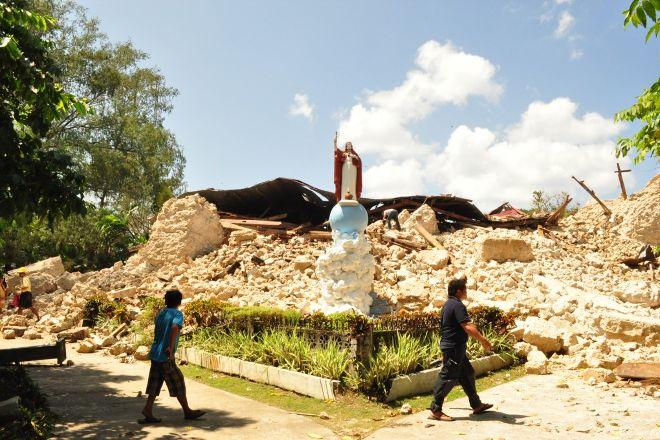 Maribojoc Church, Maribojoc, Philippines