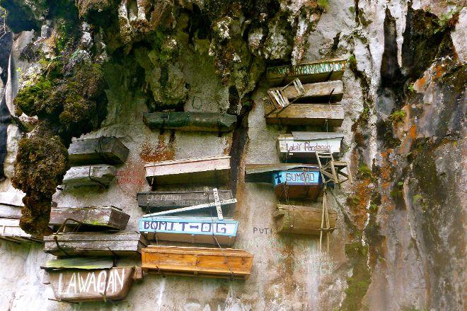 The Hanging Coffins Of Sagada, Sagada, Philippines