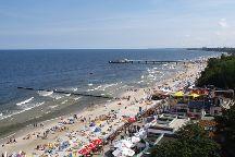 Kolobrzeg's Main Beach, Kolobrzeg, Poland