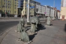 Monument to the Anonymous Passerby, Wroclaw, Poland