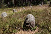Stone Circles in Odry, Czersk, Poland