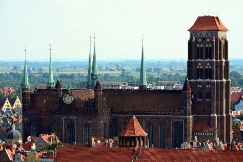 St. Mary's Church, Gdansk, Poland