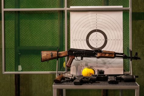 Strzelnica RP Shooting Range, Aleksandrow Lodzki, Poland