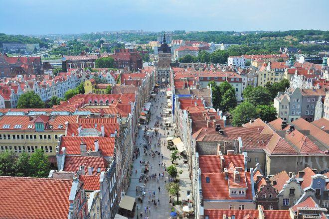 Dluga Street (ul. Dluga), Gdansk, Poland