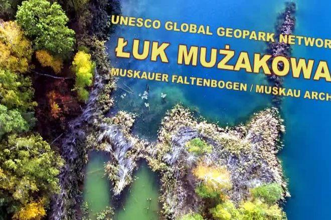 Geopark Luk Muzakowa, Leknica, Poland