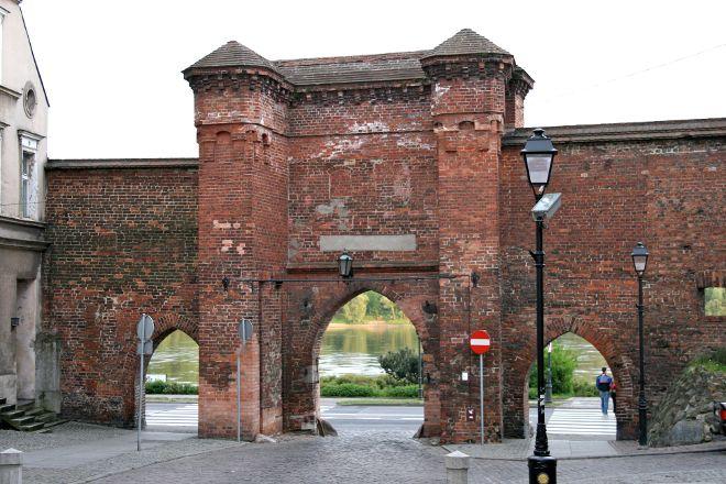 Medieval Defensive City Walls, Torun, Poland