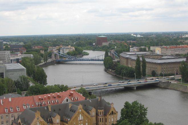 Odra River, Wroclaw, Poland