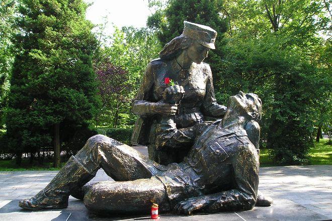 Pomnik Sanitariuszki, Kolobrzeg, Poland