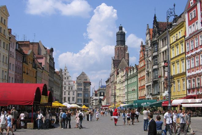 Rynek of Wroclaw, Wroclaw, Poland