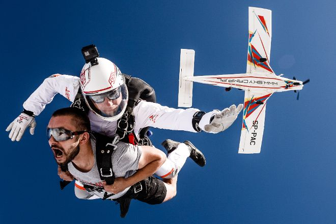 Sky Camp - Skydiving, Kazimierz Biskupi, Poland