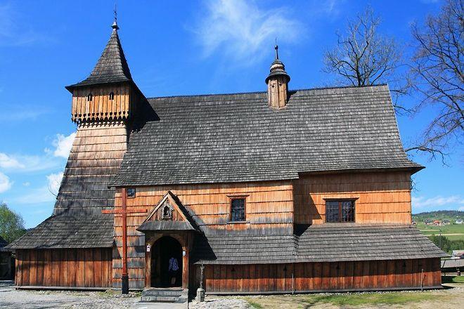 St. Michael Archangel's Church in Debno, Debno, Poland