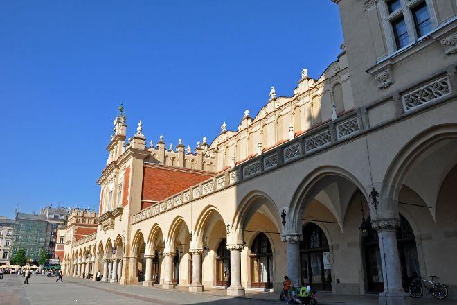 Sukiennice (Cloth Hall), Krakow, Poland