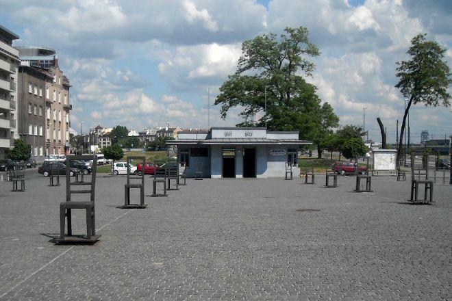 The Ghetto Heroes Square, Krakow, Poland