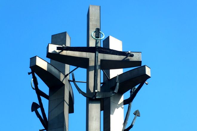 Three Crosses Monument, Gdansk, Poland