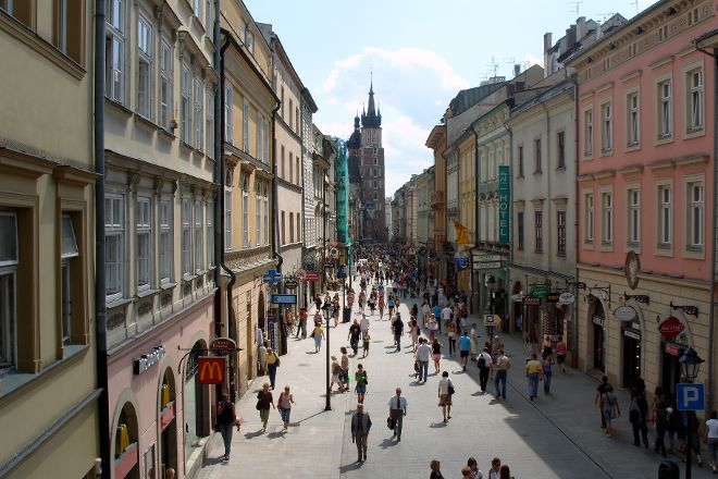 Ulica Florianska, Krakow, Poland