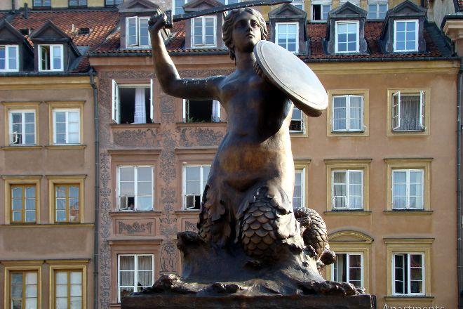 Warsaw Mermaid, Warsaw, Poland