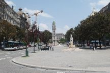 Liberdade Square, Porto, Portugal