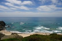 Praia Vale Dos Homens, Rogil, Portugal