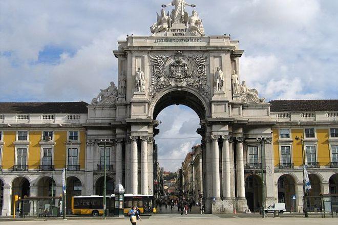 Arco do Triunfo, Lisbon, Portugal