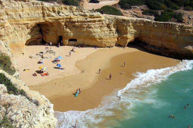 Carvalho Beach, Carvoeiro, Portugal