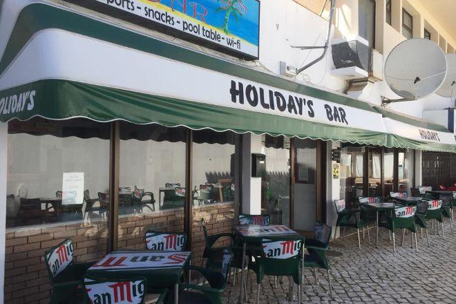 Holidays Bar, Olhos de Agua, Portugal