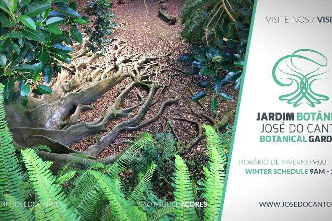 Jose do Canto Botanical Garden, Ponta Delgada, Portugal