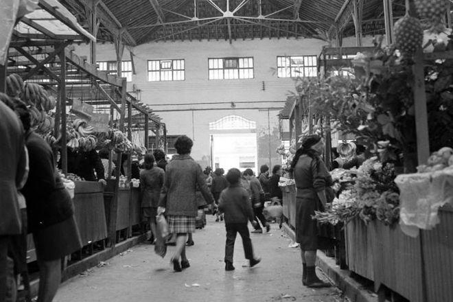 Mercado de Campo de Ourique, Lisbon, Portugal