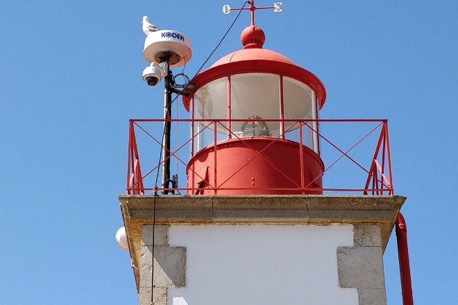 Ponta do Altar Lighthouse, Ferragudo, Portugal