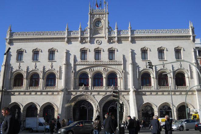 Rossio Train Station, Lisbon, Portugal