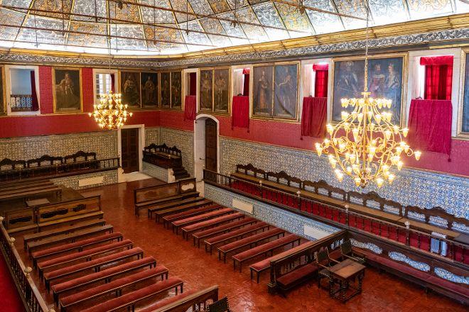 Sala dos Capelos, Coimbra, Portugal