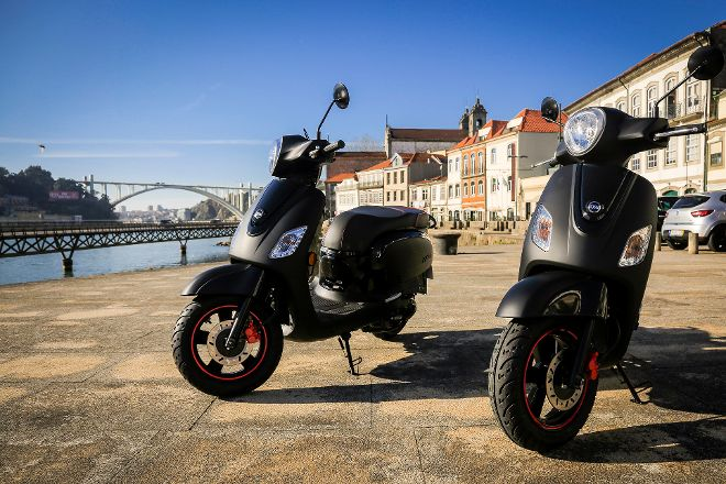 Shining View Scooters Rental, Porto, Portugal