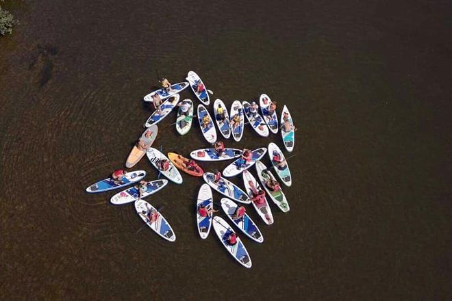 Stand Up Friend Paddle School, Costa da Caparica, Portugal