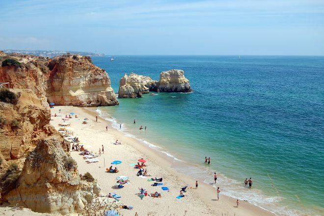 Tres Castelos Beach, Portimao, Portugal