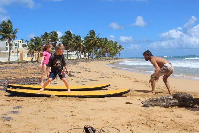 La Pared Surf Shop & School, Luquillo, Puerto Rico