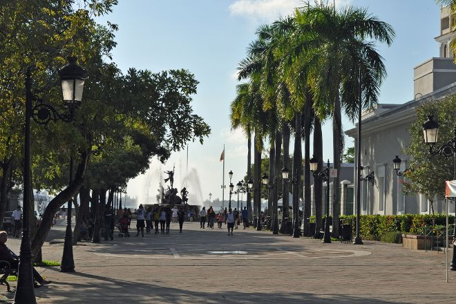 Paseo de la Princesa, San Juan, Puerto Rico
