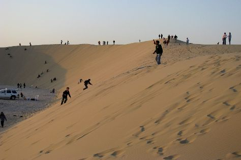 Sand Dunes Qatar, Mesaieed, Qatar