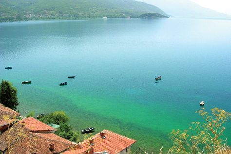Lake Ohrid, Ohrid, Republic of Macedonia