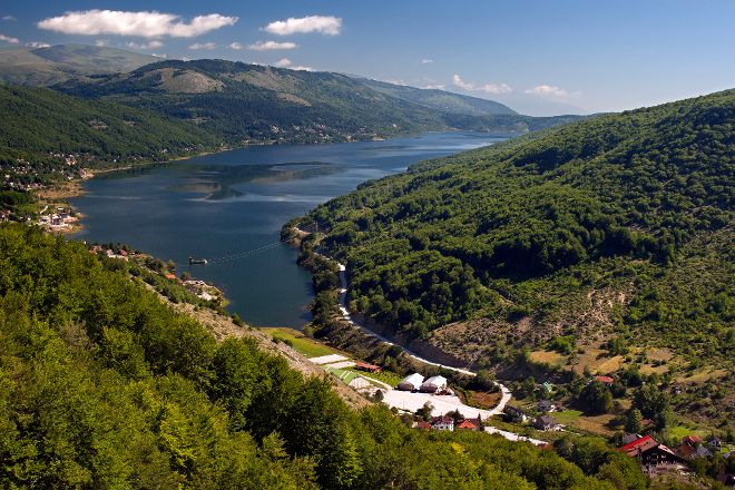 Mavrovo Lake, Mavrovo, Republic of North Macedonia