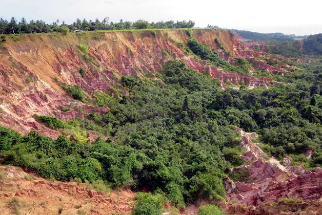 Gorges of Diosso, Pointe Noire, Republic of the Congo