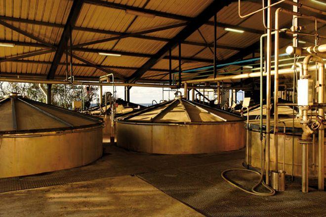 Distillerie de Savanna, Saint-Andre, Reunion Island
