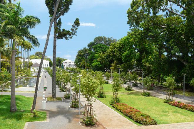 Jardin de l'Etat, Saint-Denis, Reunion Island