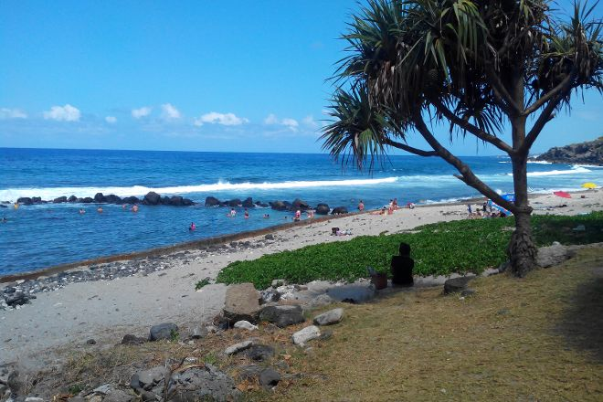 Plage de Grande Anse, Petite-Ile, Reunion Island