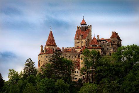 Bran Castle (Dracula's Castle), Bran, Romania