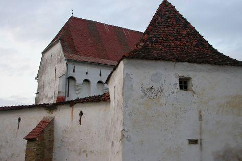 Darjiu Fortified Church, Darjiu, Romania
