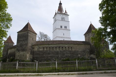 Fortified Church of Harman, Harman, Romania