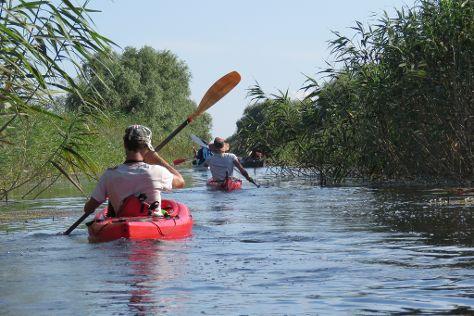Kayaking and Biking Sulina, Danube Delta, Sulina, Romania